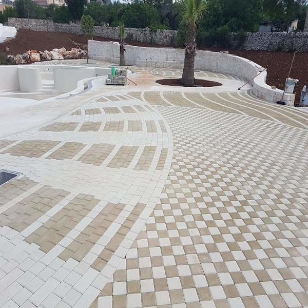 Pavimento carrabile drenante in Sicilia (Palermo) Crea duo   Pavimblok srl