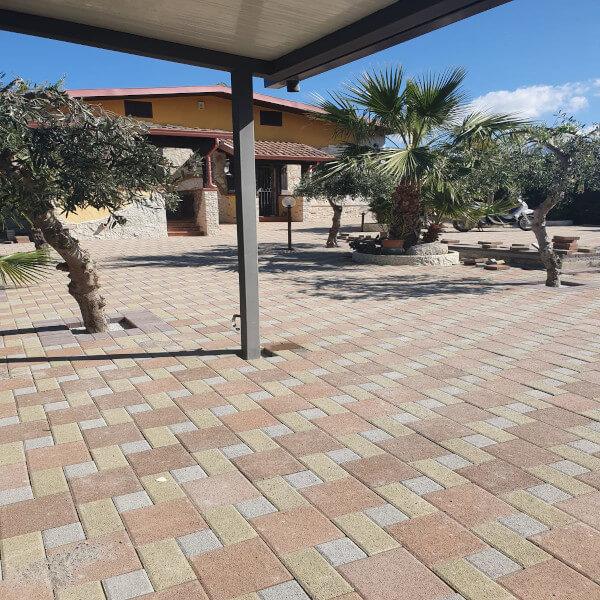 pavimento esterno economico a Palermo- Pavimblok srl